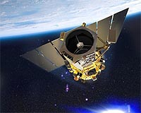 GeoEye-1 in Orbit