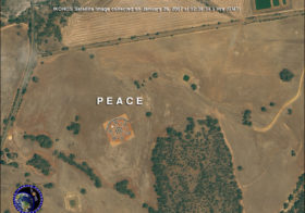 Satellite Image Earth Art on Australia Day: Look Up and Smile!