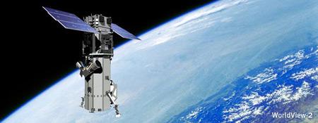 WorldView-2 Satellite in Orbit