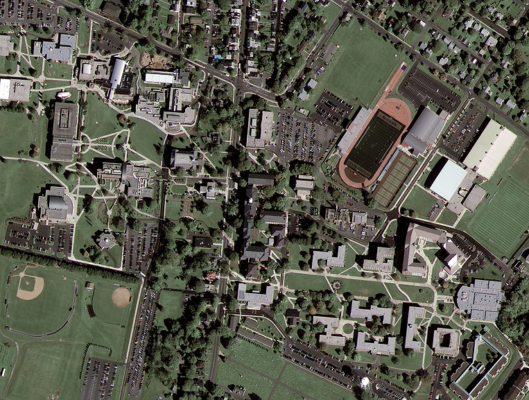 GeoEye-1 Satellite Sensor Acquires First Color Image, Showcasing its High-resolution and Image Quality