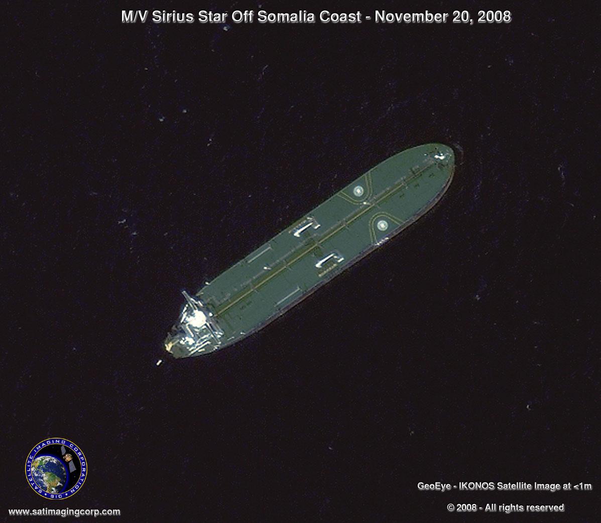 Somali Pirates Sirius Hijack