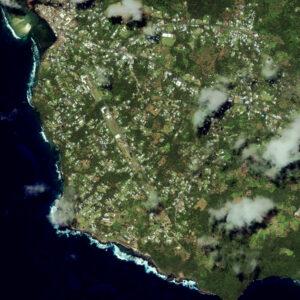 satellite image america samoa pago pago tsunami