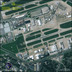 WorldView-2 Dallas Texas Love Airfield Satellite Image