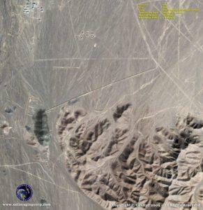 satellite image Iran nuclear site Qom
