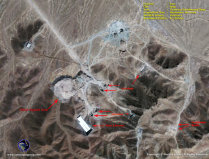 satellite image Qom_iran hidden nuclear facility