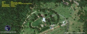 satellite image monticello_thomas jefferson