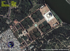 satellite photo new-delhi-india-taj-mahal copy