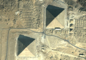 Satellite Images of the World's Most Famous Memorials, Tombs and Mausoleums