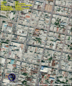 satellite image Haiti port au prince before earthquake