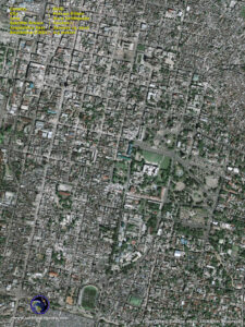 satellite image haiti earthquake port au prince geoeye-1 