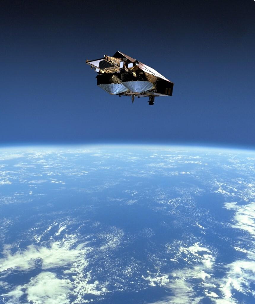 Cryosat satellite