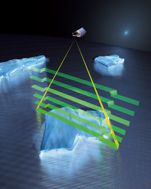 cryosat satellite sensor
