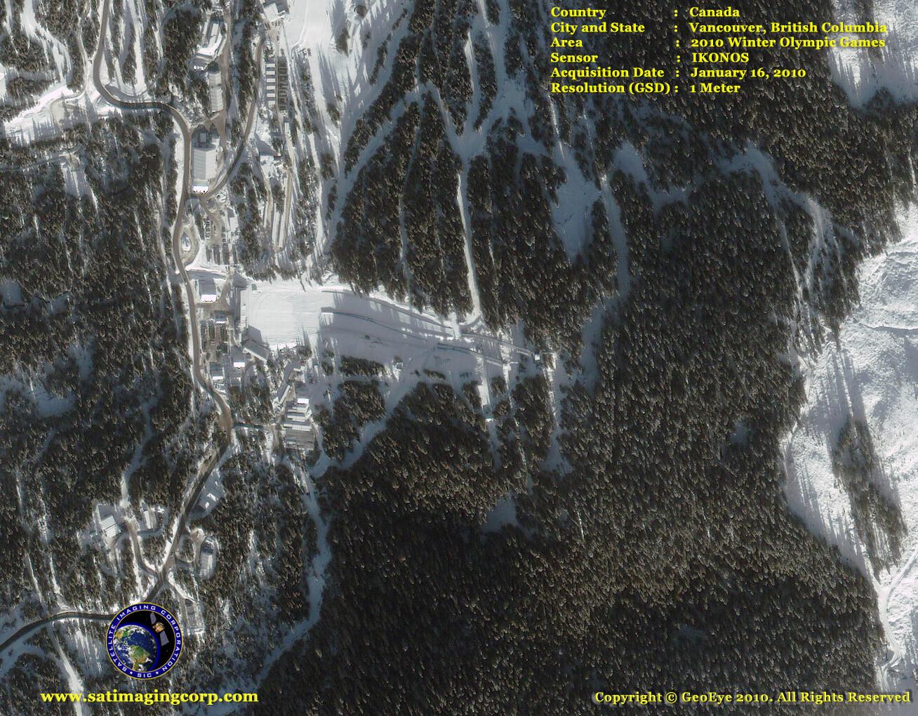 satellite image 2010 olympics_whistler park