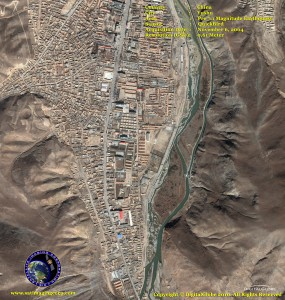 satellite photo yushu China earthquake