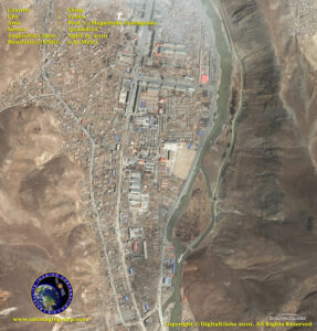 satellite image Yushu China earthquake post