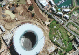 Satellite Image FIFA World Cup 2010 Capetown, Africa