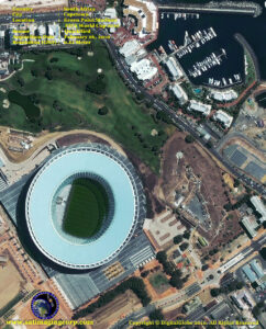 satellite image Green Point Stadium, Cape Town, South Africa