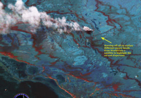 Satellite Images Supports Gulf Oil Spill Response and Cleanup