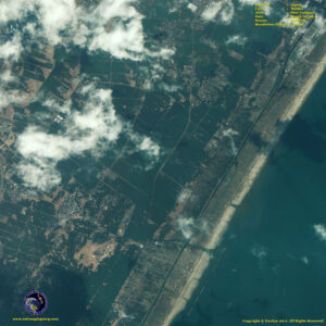 satellite image Sendai_japan post tsunami