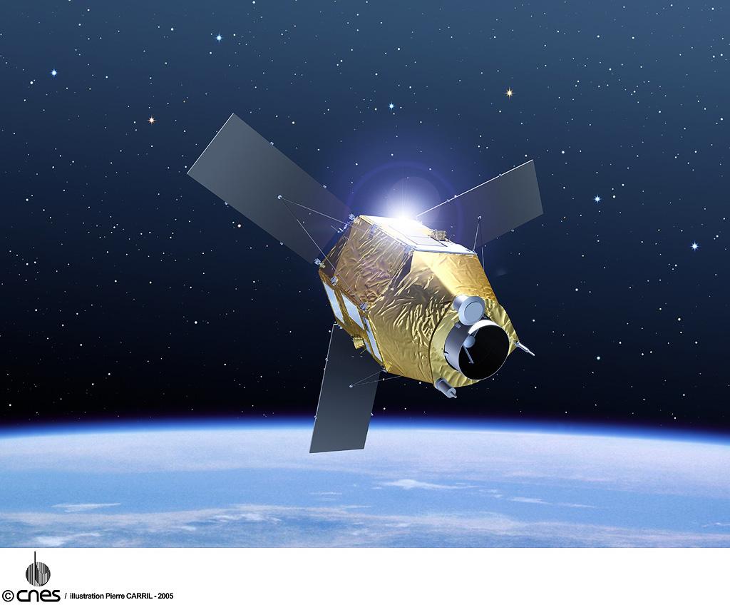 Pleiades-1 Satellite Sensor